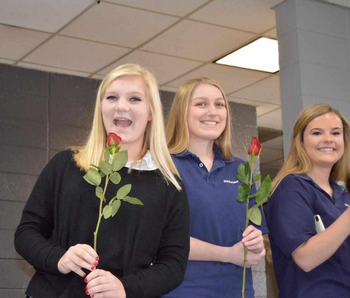 Valentine Sweethearts announced on special day