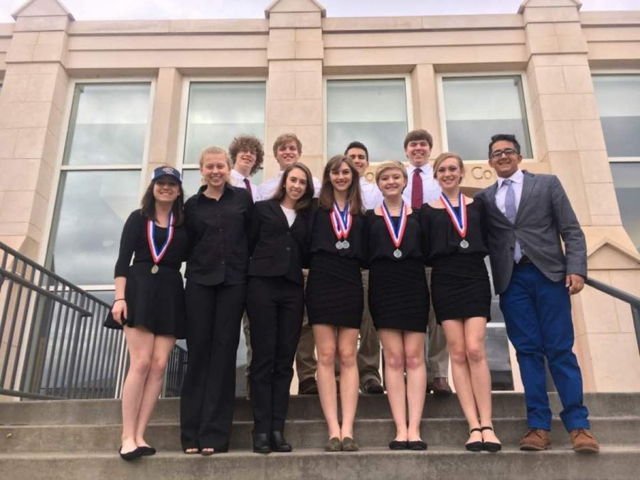 Literary Team finishes strong third in state