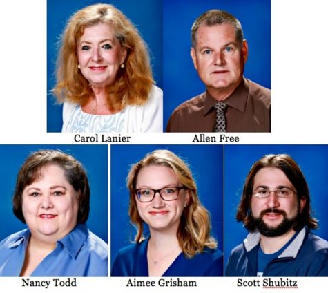 Five upper school teachers departing