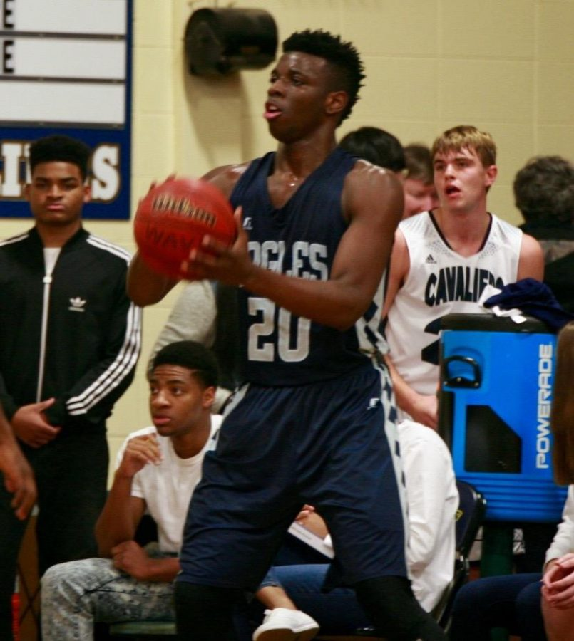 Brooks leads Eagles front court