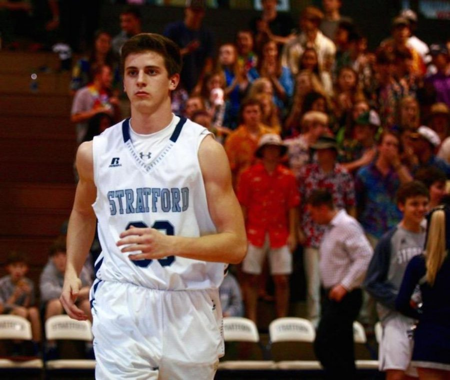 Junior Nathan Hunt has emerged as a key player for the Eagles late in the season.