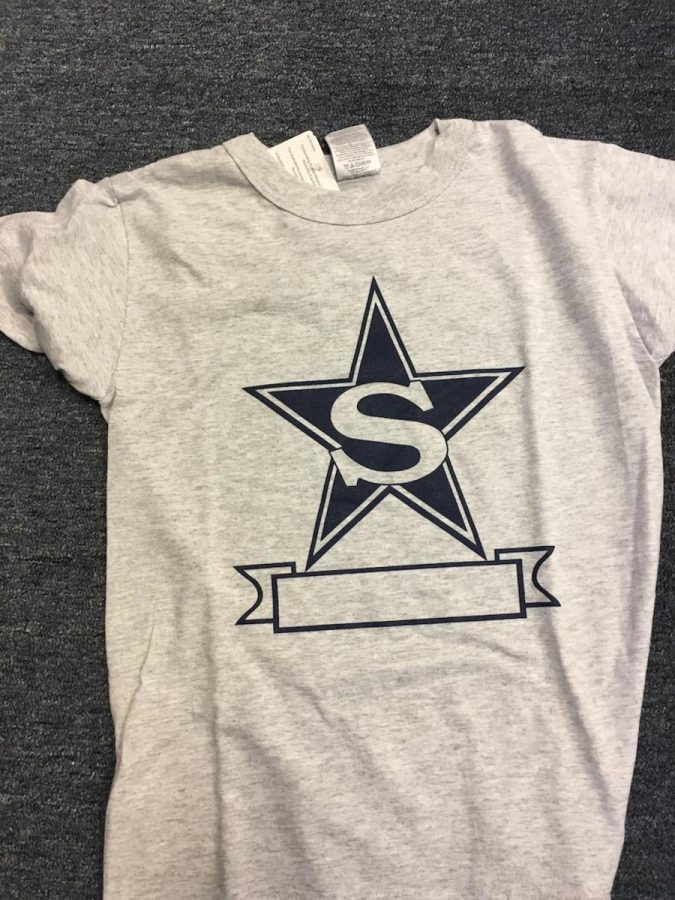 Stratford Star on front of P.E. uniform (photo by Molly Garud)