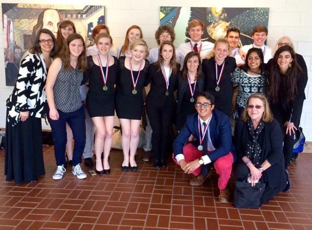 Literary team brings home impressive five first-place awards in region competition