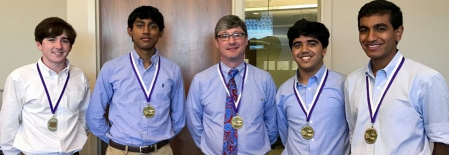 Three cheers -- and another first place -- for Stratford's Quiz Bowl team