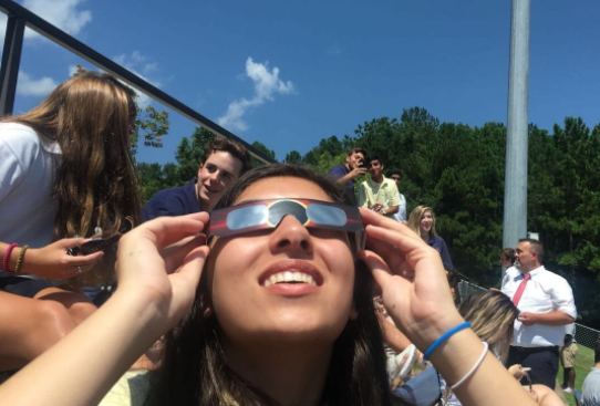 Sophomore+Neely+Shah+has+her+sights+set+on+the+partial+eclipse
