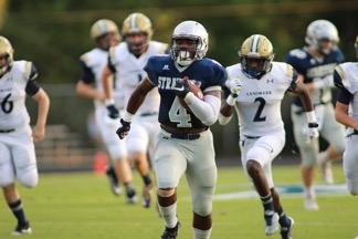 Senior Tyler Jordan is a leader in the Eagles rushing attack