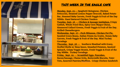 This Week in the Eagle Cafe