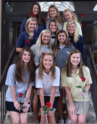 Eight senior girls named to homecoming court