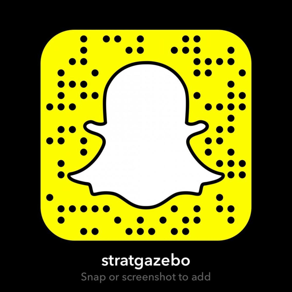 Stratford Gazebo Snapchat