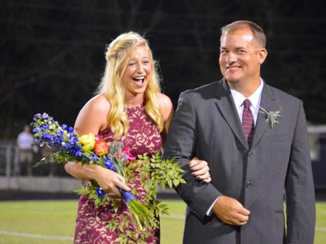 Tori Dover crowned homecoming queen