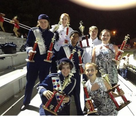 Band, Color Guard bring home the hardware
