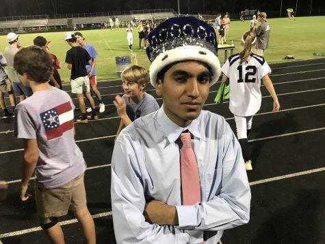 Vangala crowned homecoming king