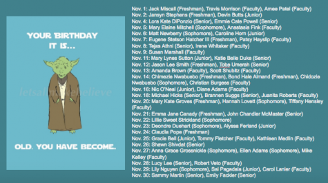 November Birthdays