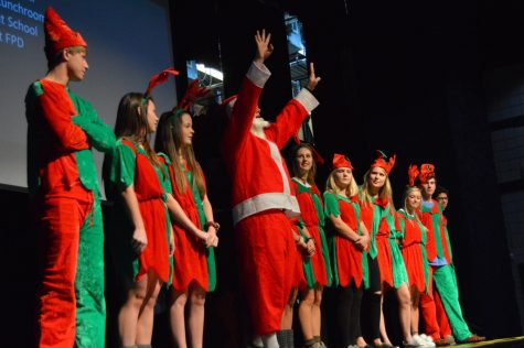SAB Holiday Assembly brings cheer