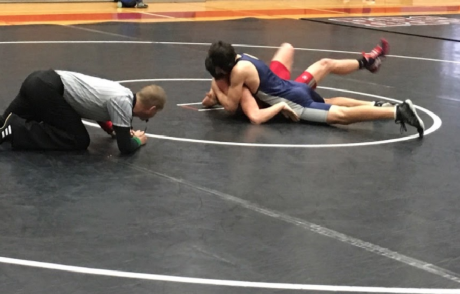 Harrison Tuck gets the win for the Eagles