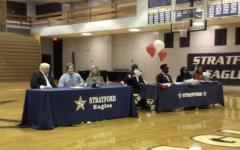 Four seniors take spotlight on national signing day