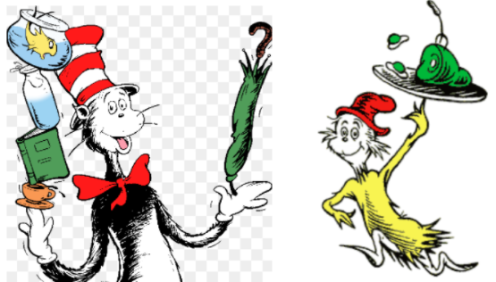 'Cat in the Hat,' 'Green Eggs and Ham' among favorites