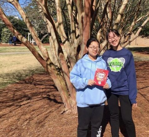 Exchange students celebrate Chinese New Year