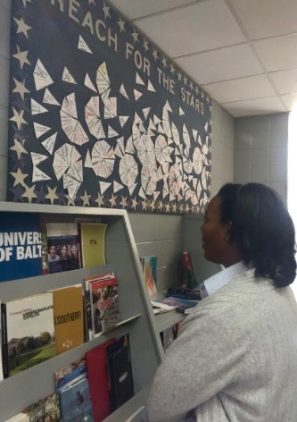 College bulletin board is 'star' attraction