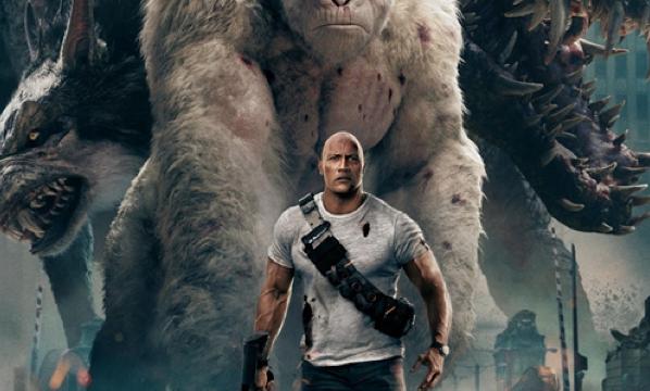 'Rampage' video game movie falls short