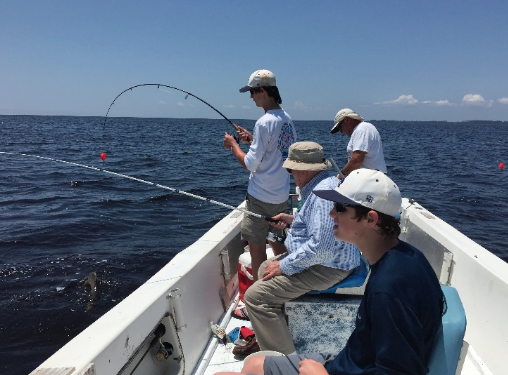 Father-son fishing trip reels in the memories