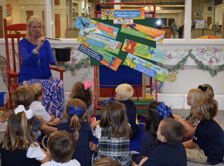 Preschool students have magical time in library