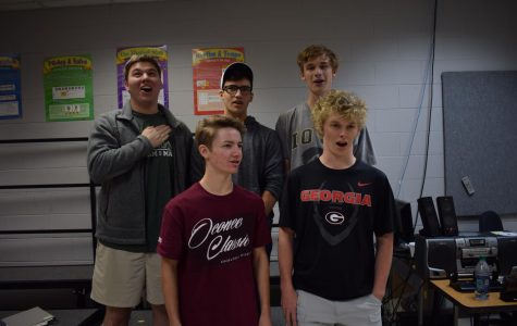 Stratford quintet to sing national anthem at homecoming