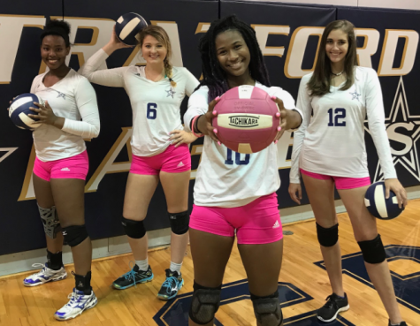 Volleyball set for Pink Out Thursday