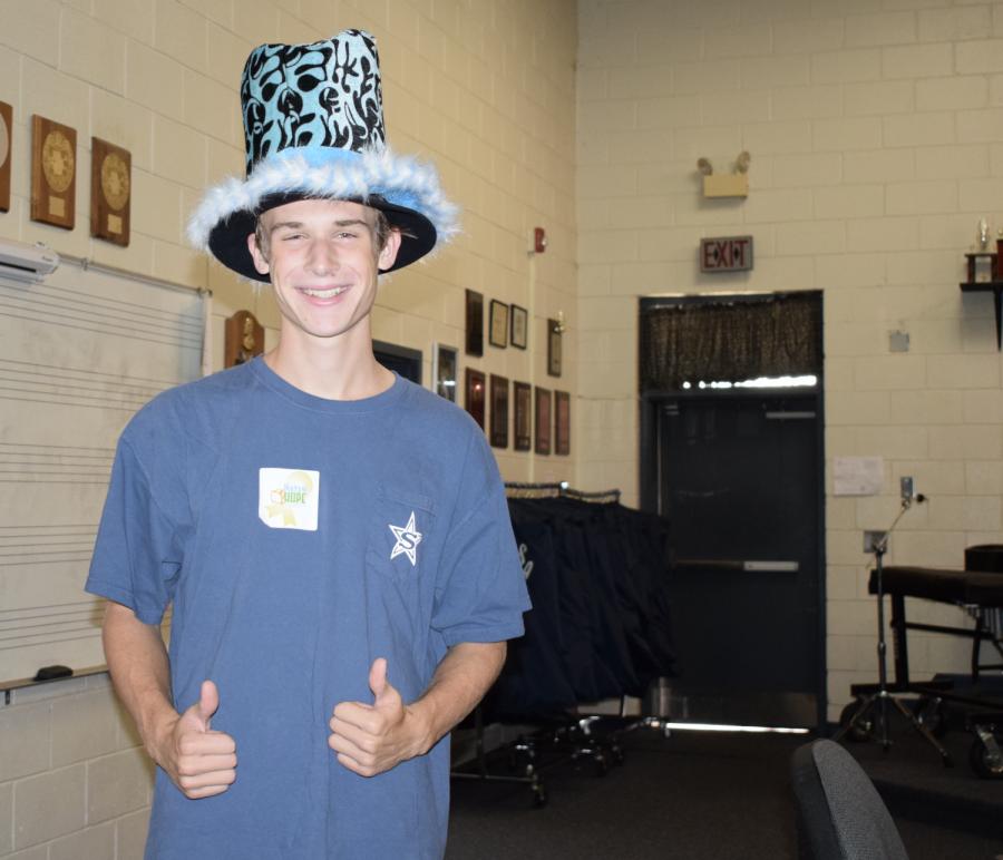 Senior+Benjamin+Jorgensen+chose+to+wear+a+top+hat