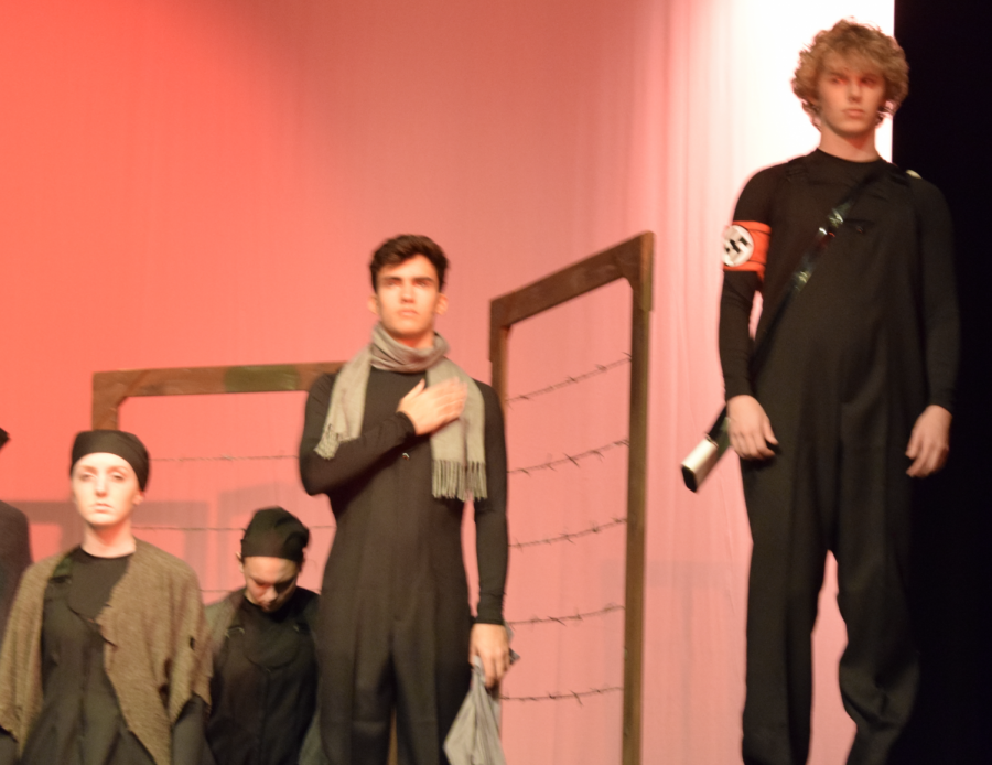 (L-R) Riley Davis, Noah Fenimore and Austin Slocumb are part of the 'Butterfly' cast