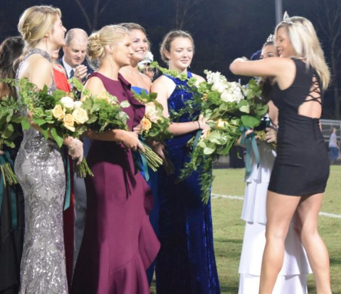 Autumn Land crowned homecoming queen