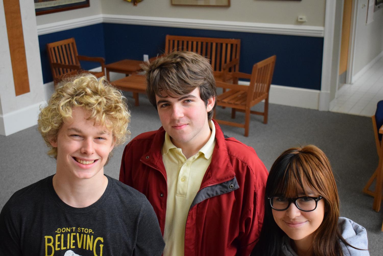 (L-R) Austin Slocumb, Thomas Sachy and Alex Hall