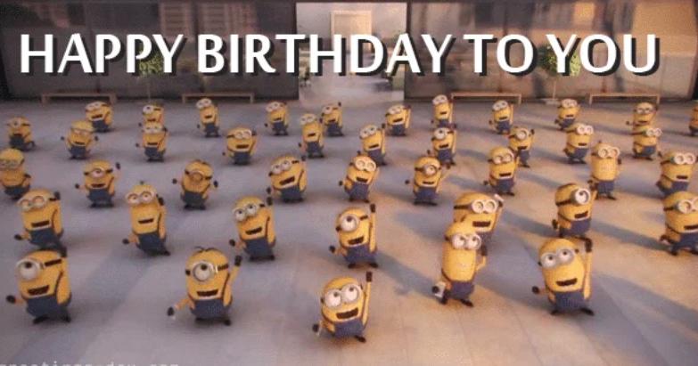 Happy Birthday from the Gazebo