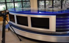 WMAZ anchor desk finds new home in Stratford studio
