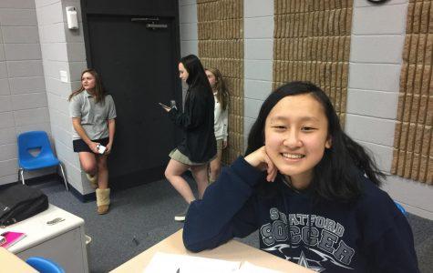 Jocelyn Tang, sophomore
