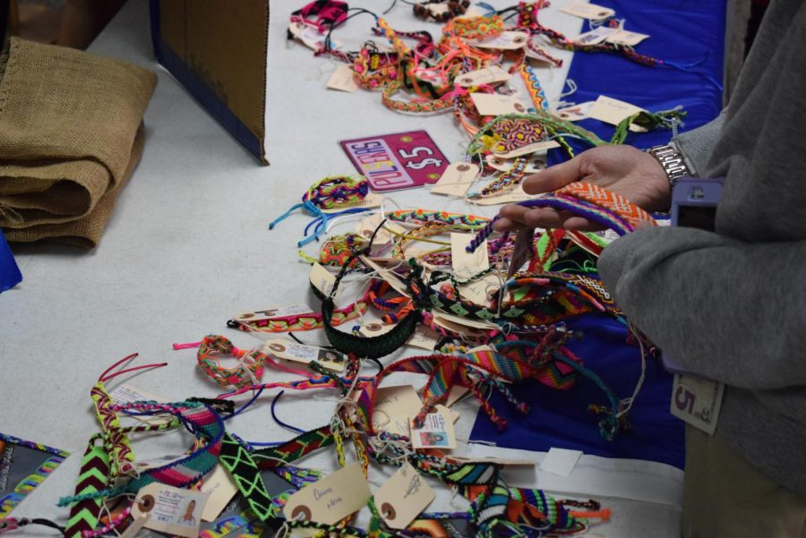 Stratford's Spanish Club raised more than $1,200 for the Pulsera Project