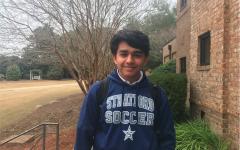 Om Patel, sophomore