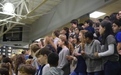Middle School rates pep rally as huge success