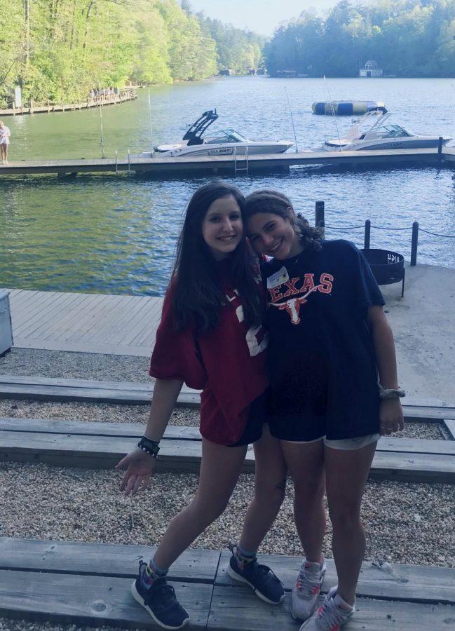 Bonnie+Sherwood%2C+left%2C+at+Camp+Harbour