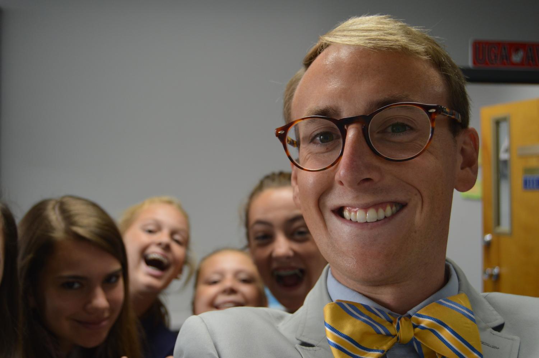 New head of school Mr. Logan Bowlds