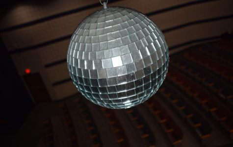 Auditorium disco ball