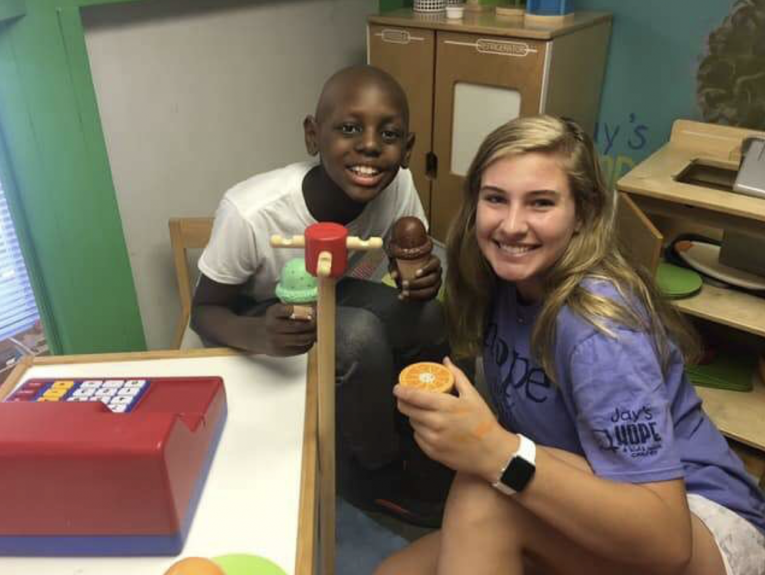 Senior Emory Sutherland is working with Jay's Hope for her Senior Project