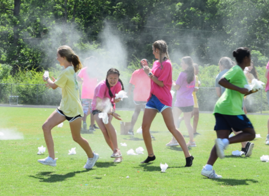 Middle School Field Day Slide Show