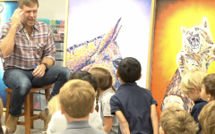 Gordon reaches out to students with artwork