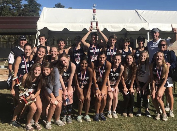 Cross country teams sweep area meet