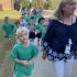 Kindergarten students continue gingerbread hunt tradition