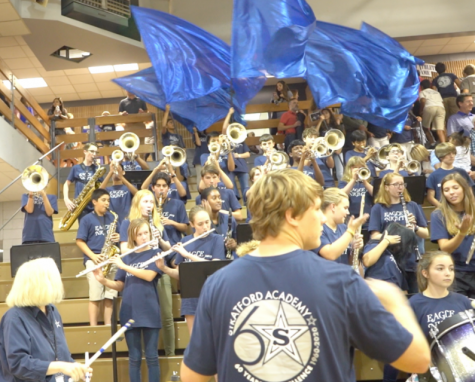 "Afternoon pep rallies return to ""new"" Grady"
