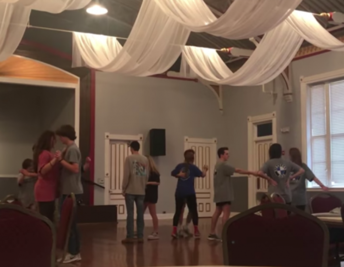 Ballroom dancing will be among the activities for juniors at the Armory Ballroom