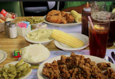 Fried chicken? Sweet tea? Country cooking not for me