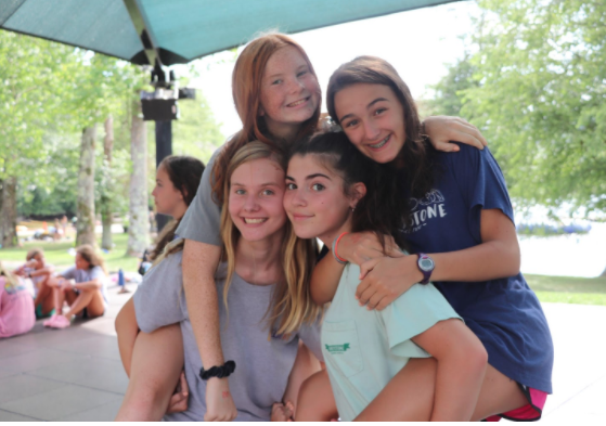 Camp affords opportunity to make friends from all over